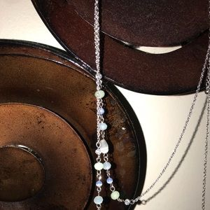 Jewelry - Gorgeous double stranded beaded necklace BNWT